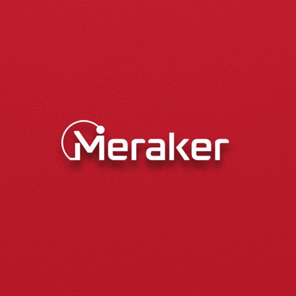 로고 + 명함 | 인공지능 스타트업 로고 (메라커) | 라우드소싱 포트폴리오