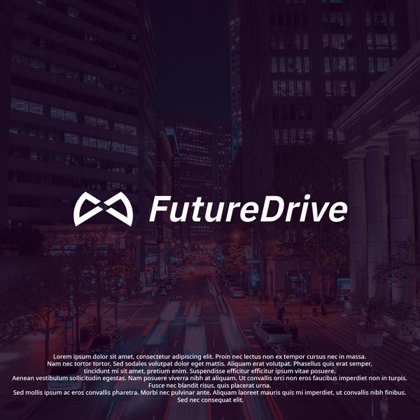 로고 + 명함 | FutureDrive(퓨처드라이브) 회사 로고+명함 디자인 의뢰 | 라우드소싱 포트폴리오