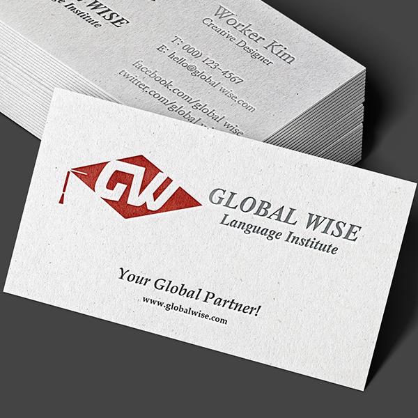 로고 디자인 | 글로벌와이즈 | 라우드소싱 포트폴리오