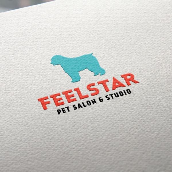 로고 디자인 | 펫살롱&스튜디오 필스타 ... | 라우드소싱 포트폴리오