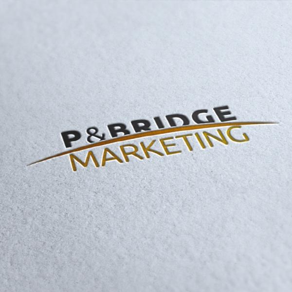 로고 디자인   피엔브릿지마케팅 로고 디...   라우드소싱 포트폴리오