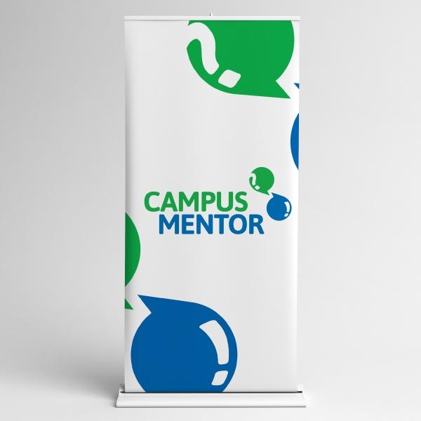 로고 + 간판 | 캠퍼스멘토 (CAMPUS ME... | 라우드소싱 포트폴리오