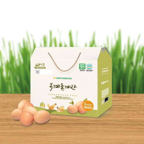 패키지 디자인 | 한국양계농협 계란선물세트... | 라우드소싱 포트폴리오