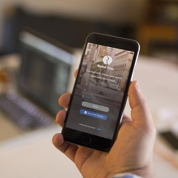 상세 페이지 | RatedTrue 앱 랜... | 라우드소싱 포트폴리오
