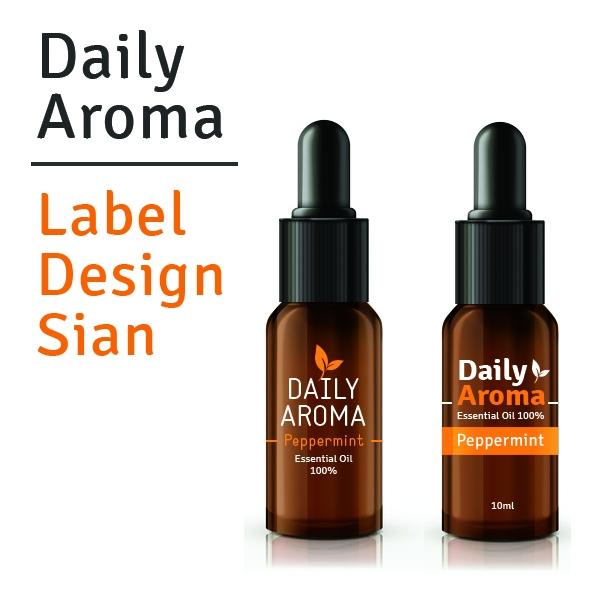 라벨 디자인 | Daily Aroma | 라우드소싱 포트폴리오