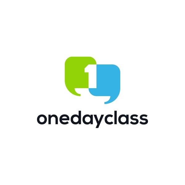 로고 디자인 | onedayclass 로... | 라우드소싱 포트폴리오