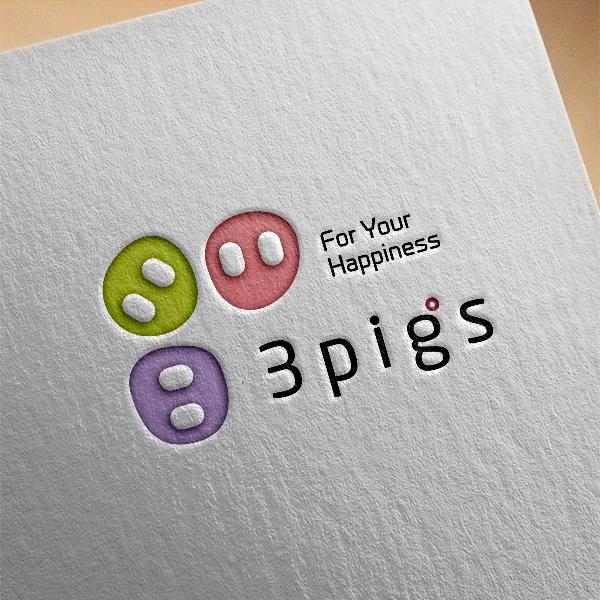 로고 + 명함 | 3pigs 로고 디자인 의뢰 | 라우드소싱 포트폴리오