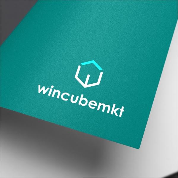 로고 + 명함 | 윈큐브마케팅 CI 및 명... | 라우드소싱 포트폴리오