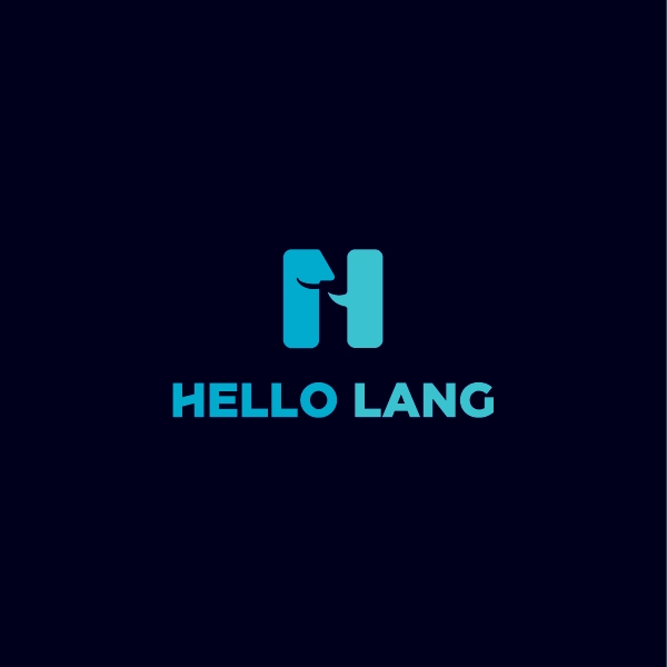 로고 디자인 | HelloLang 로고 ... | 라우드소싱 포트폴리오