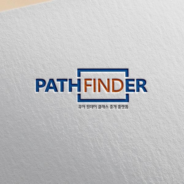 로고 + 명함 | 패스파인더 팀 로고 및 ... | 라우드소싱 포트폴리오