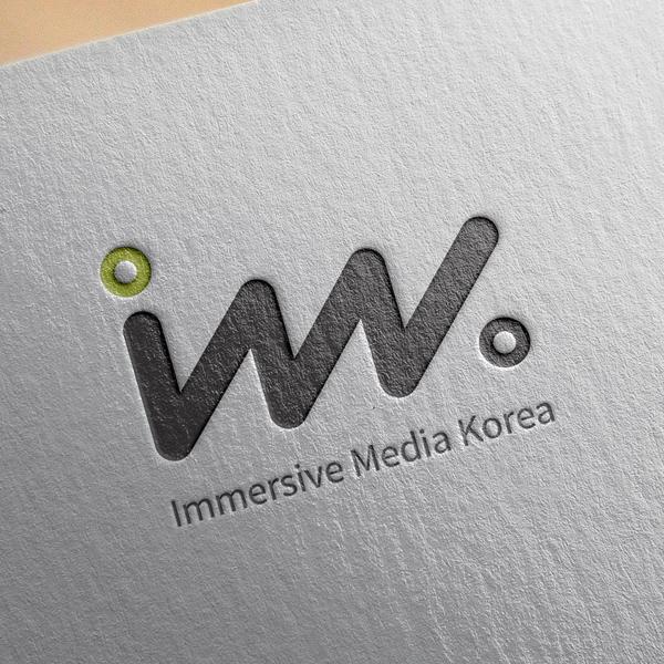 로고 디자인 | 이머시브 미디어 코리아(IMK) | 라우드소싱 포트폴리오