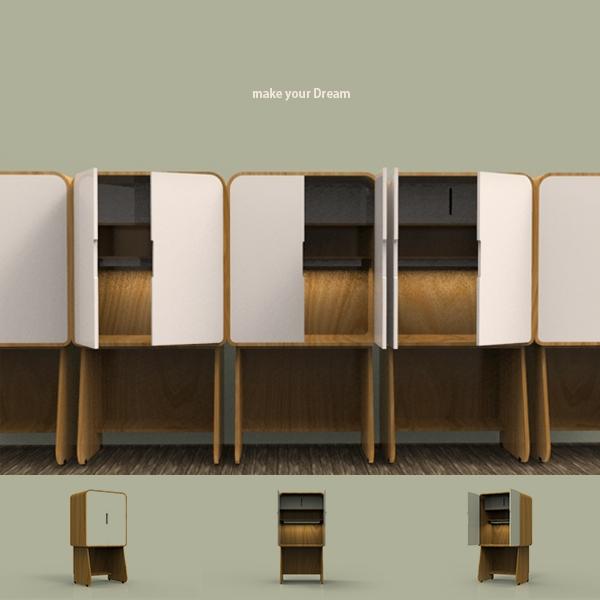 제품 디자인 | 독서실책상 디자인 | 라우드소싱 포트폴리오