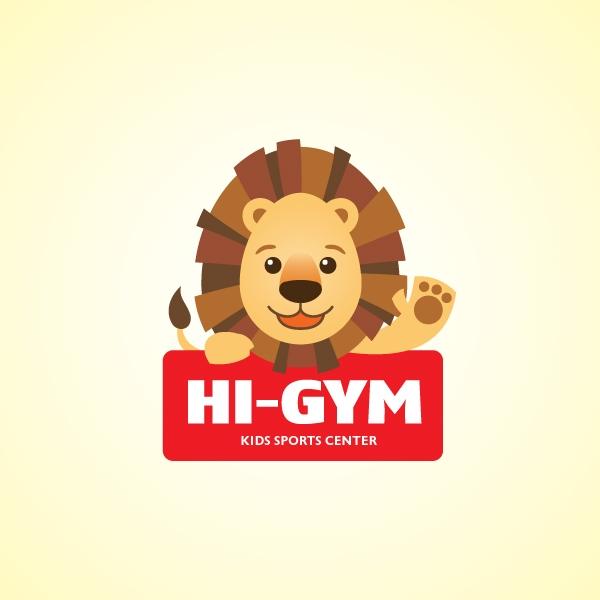 로고 디자인 | HI-GYM Kids Spor... | 라우드소싱 포트폴리오