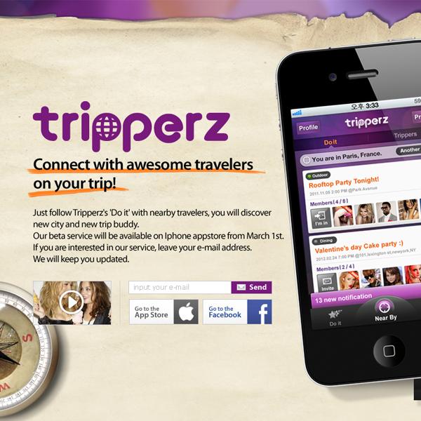 웹사이트 | Tripperz | 라우드소싱 포트폴리오