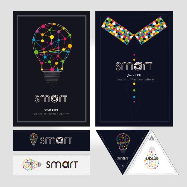 라벨 디자인 | 스마트학생복 | 라우드소싱 포트폴리오