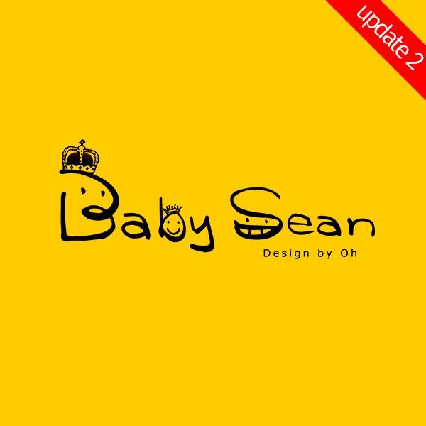 로고 디자인   Baby Sean   라우드소싱 포트폴리오