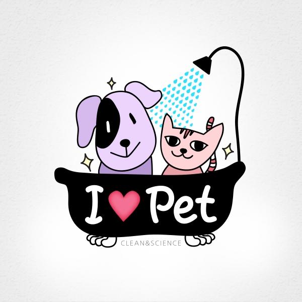 로고 디자인 | I LOVE PET 상표... | 라우드소싱 포트폴리오