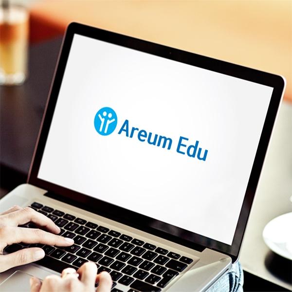 명함 / 봉투   아름교육   Areum Edu   라우드소싱 포트폴리오