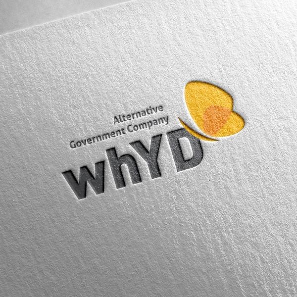 로고 디자인   대안정부기업 whYD   라우드소싱 포트폴리오