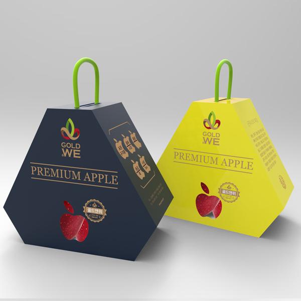 패키지 디자인 | 사과박스 디자인 의뢰 | 라우드소싱 포트폴리오