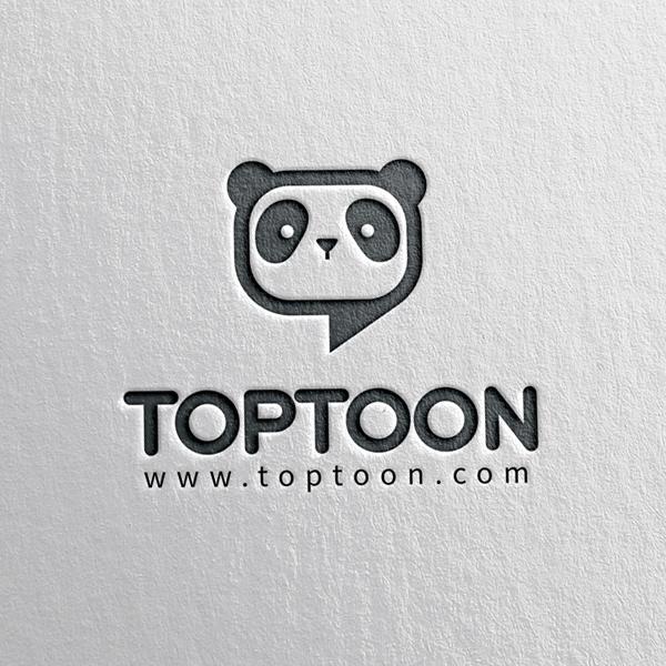로고 디자인 | TOPTOON(탑툰) 로... | 라우드소싱 포트폴리오