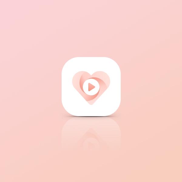 로고 디자인 | Love.ly 앱 아이콘... | 라우드소싱 포트폴리오