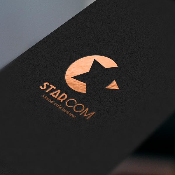 로고 + 명함 | STAR COM | 라우드소싱 포트폴리오