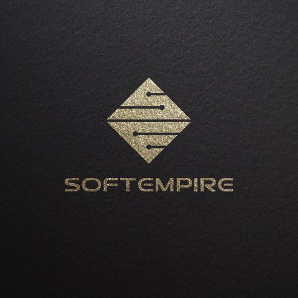 로고 + 명함 | (주)소프트엠파이어 | 라우드소싱 포트폴리오