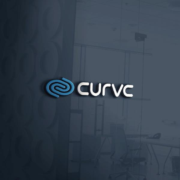 로고 + 명함 | IT기업 커브 로고 및 ... | 라우드소싱 포트폴리오