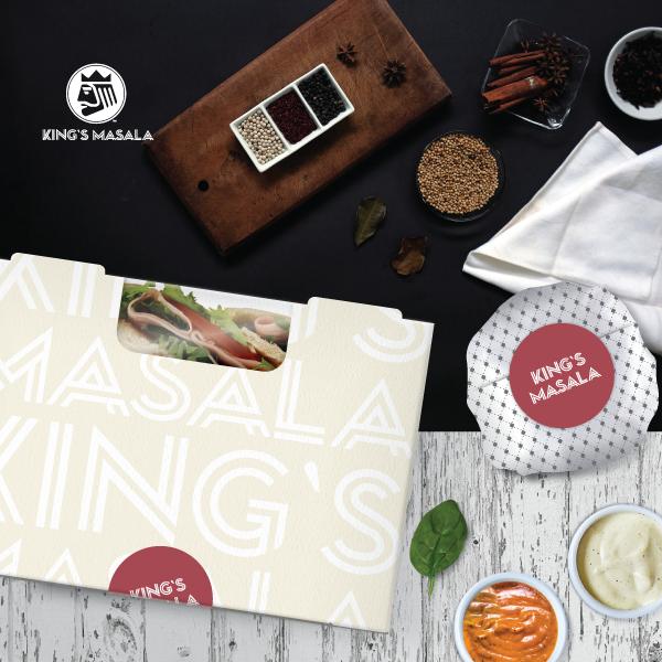 패키지 디자인 | 킹스마살라(King`s Mas... | 라우드소싱 포트폴리오