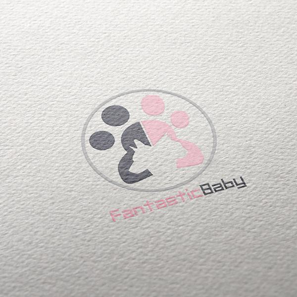 로고 디자인   FANTASTIC BABY   라우드소싱 포트폴리오