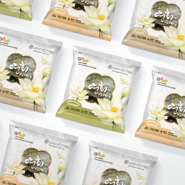 패키지 디자인 | 농업회사법인(주)부여백제연잎밥 | 라우드소싱 포트폴리오