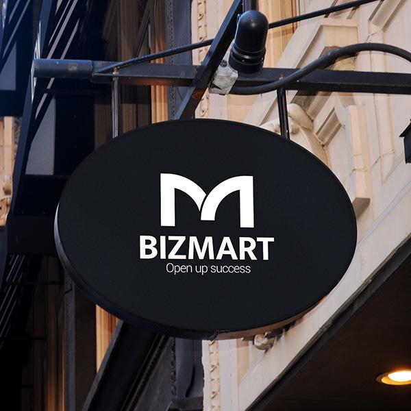 로고 디자인 | BIZMART 로고 디자... | 라우드소싱 포트폴리오
