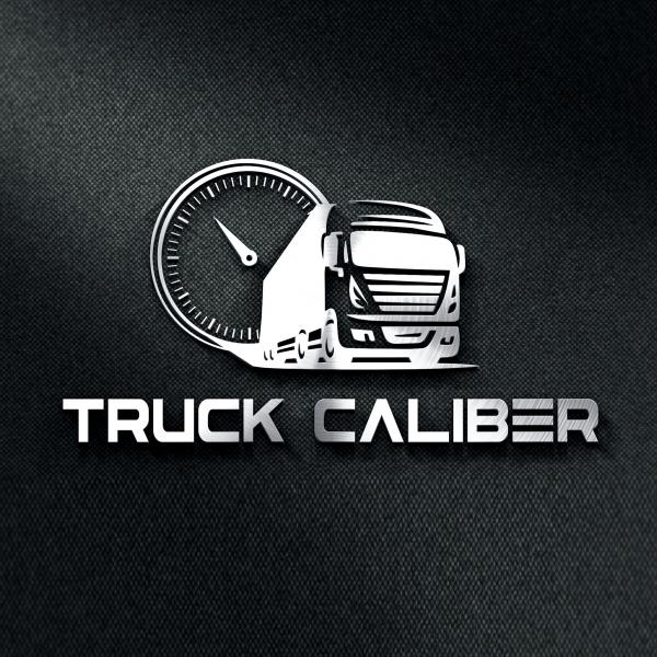 로고 + 명함 | 트럭칼리버 제품 로고 및... | 라우드소싱 포트폴리오