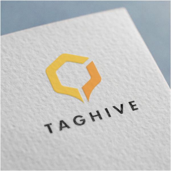 로고 + 명함 | TagHive 로고 및 ... | 라우드소싱 포트폴리오