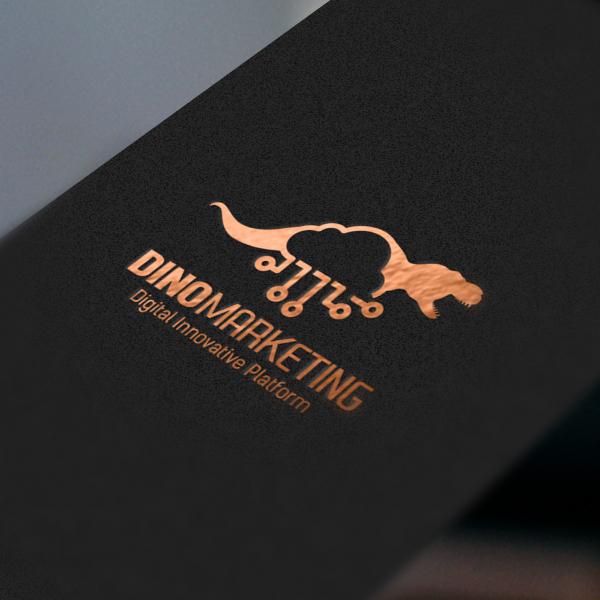 로고 + 명함 | 와이즈넛 (다이노마케팅) | 라우드소싱 포트폴리오