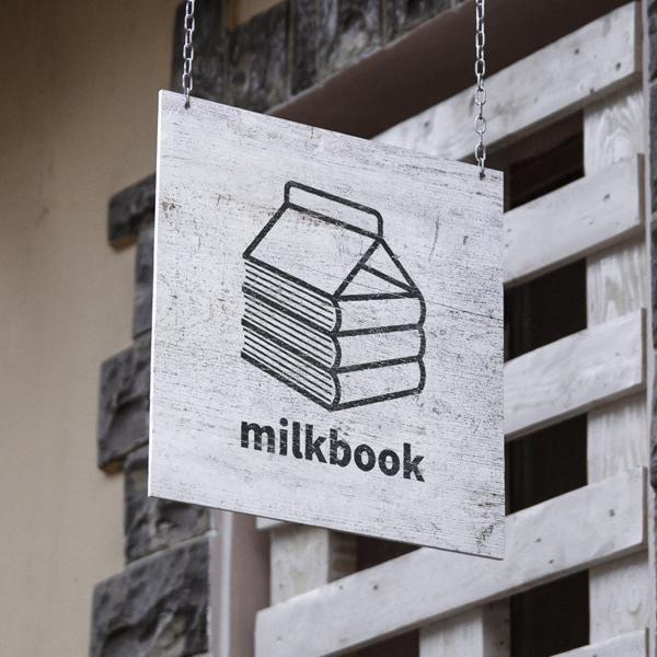 로고 디자인 | 밀크북 | 라우드소싱 포트폴리오
