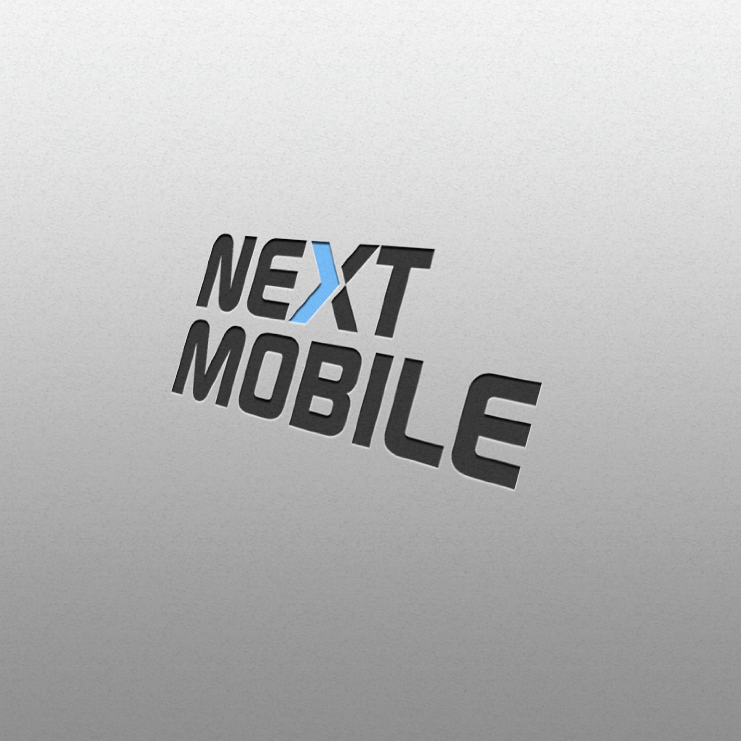 로고 + 명함 | 넥스트모바일 로고 디자인의뢰 | 라우드소싱 포트폴리오