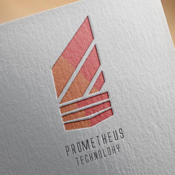 로고 디자인 | PrometheusTech (... | 라우드소싱 포트폴리오