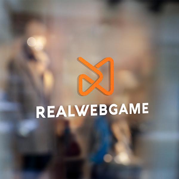 로고 디자인 | 리얼웹게임 REALWEBGAME | 라우드소싱 포트폴리오