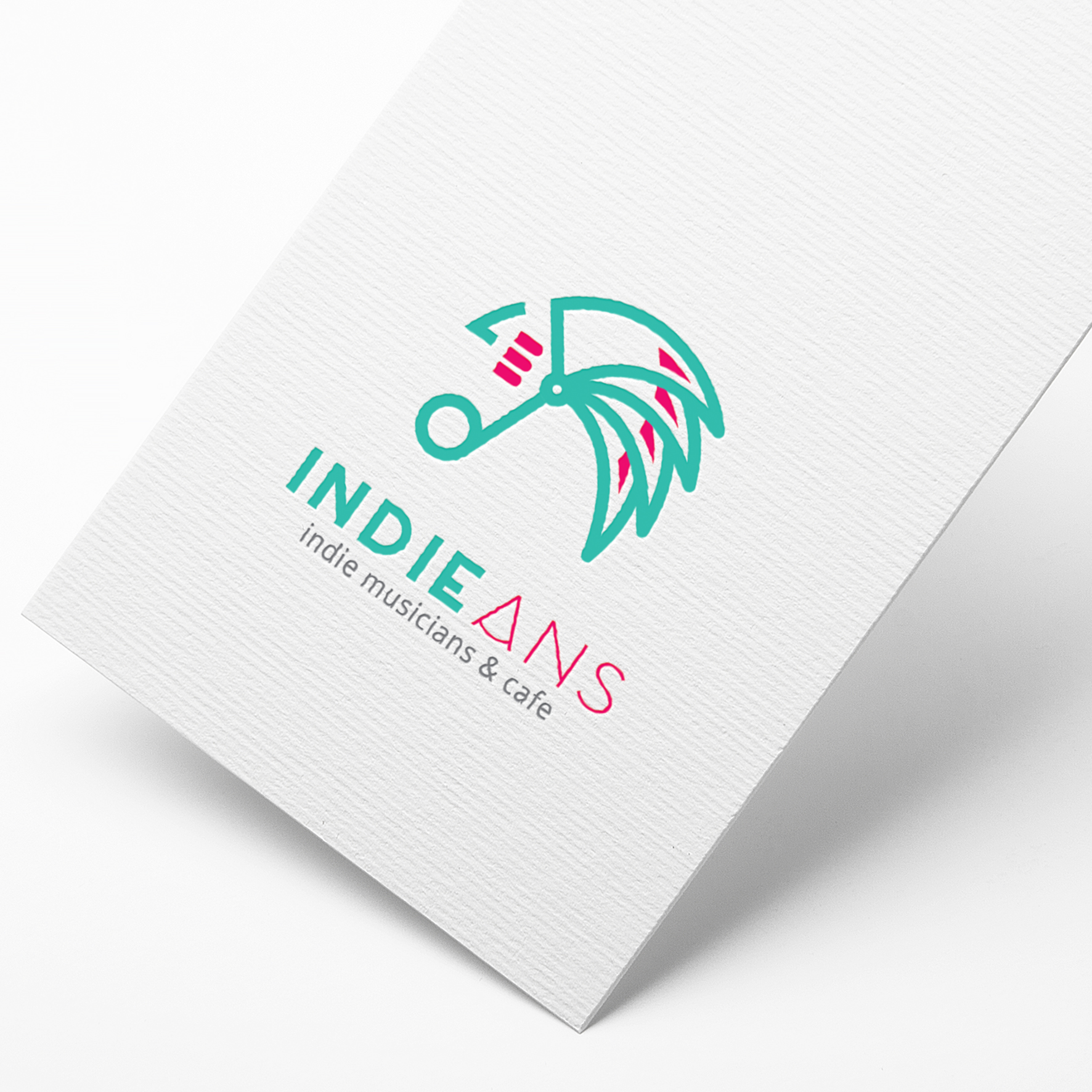 로고 + 명함 | 인디언즈(Indieans... | 라우드소싱 포트폴리오