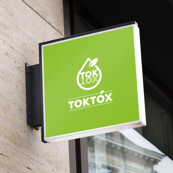 로고 디자인 | TOKTOX | 라우드소싱 포트폴리오