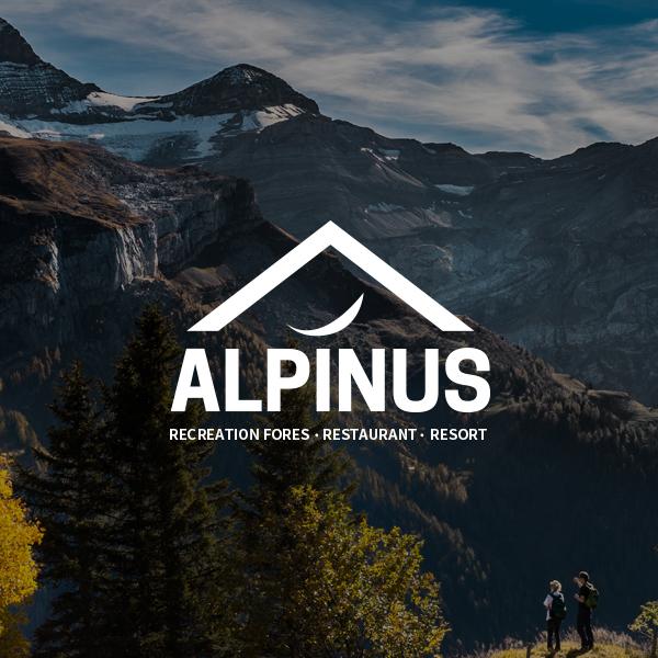 브랜딩 SET | alpinus 로고 디자... | 라우드소싱 포트폴리오