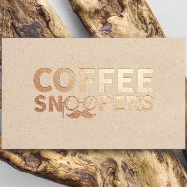 로고 + 명함 | 커피스누퍼즈(Coffee Sn... | 라우드소싱 포트폴리오