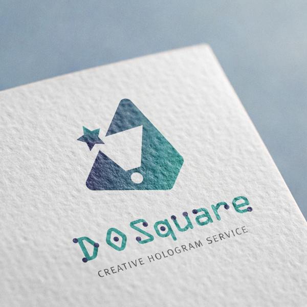 로고 + 명함 | 디오스퀘어 로고, 명함디... | 라우드소싱 포트폴리오