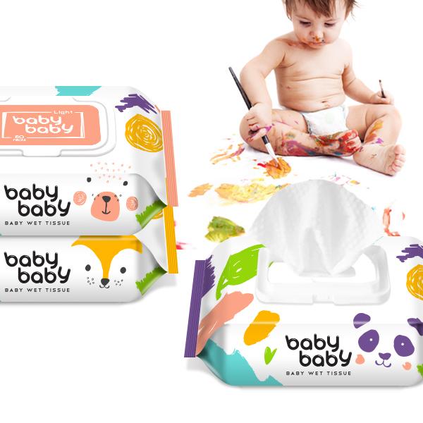 제품 디자인 | 아기물티슈