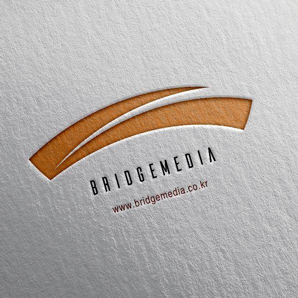 로고 + 명함 | 브릿지미디어 로고 및 명... | 라우드소싱 포트폴리오