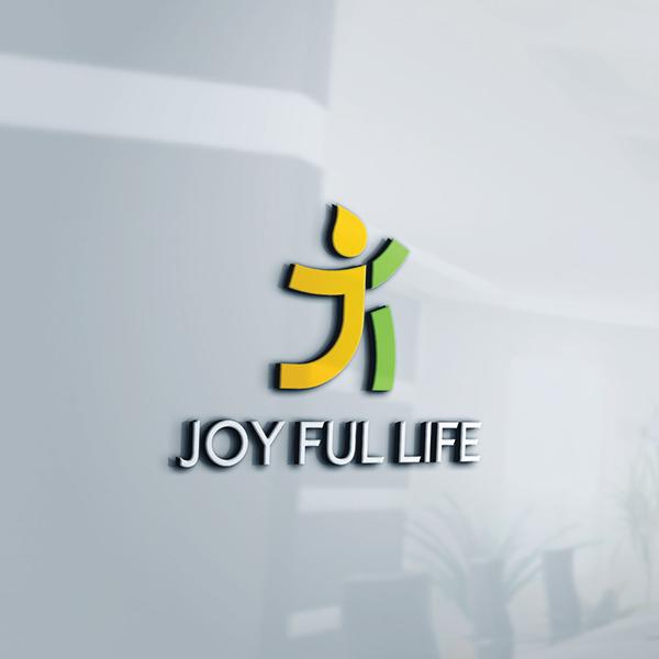 로고 + 명함 | 즐거운인생( joy ful l... | 라우드소싱 포트폴리오