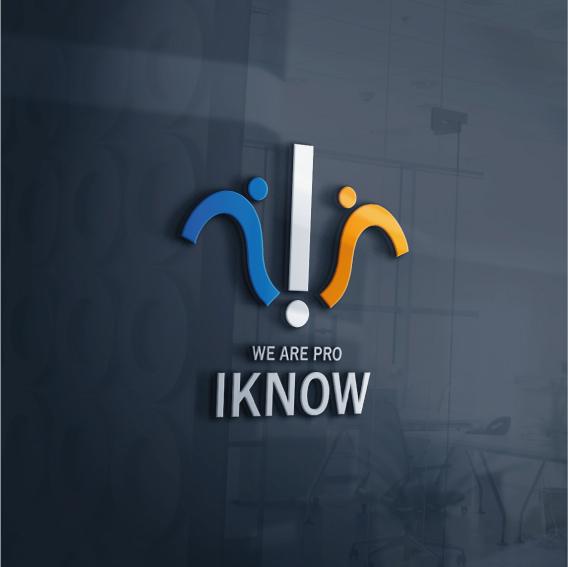 로고 + 명함 | IKNOW 로고+명함 디... | 라우드소싱 포트폴리오