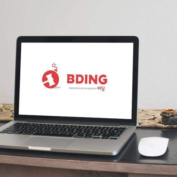 로고 + 명함 | 경매기반 예약 플랫폼 로... | 라우드소싱 포트폴리오
